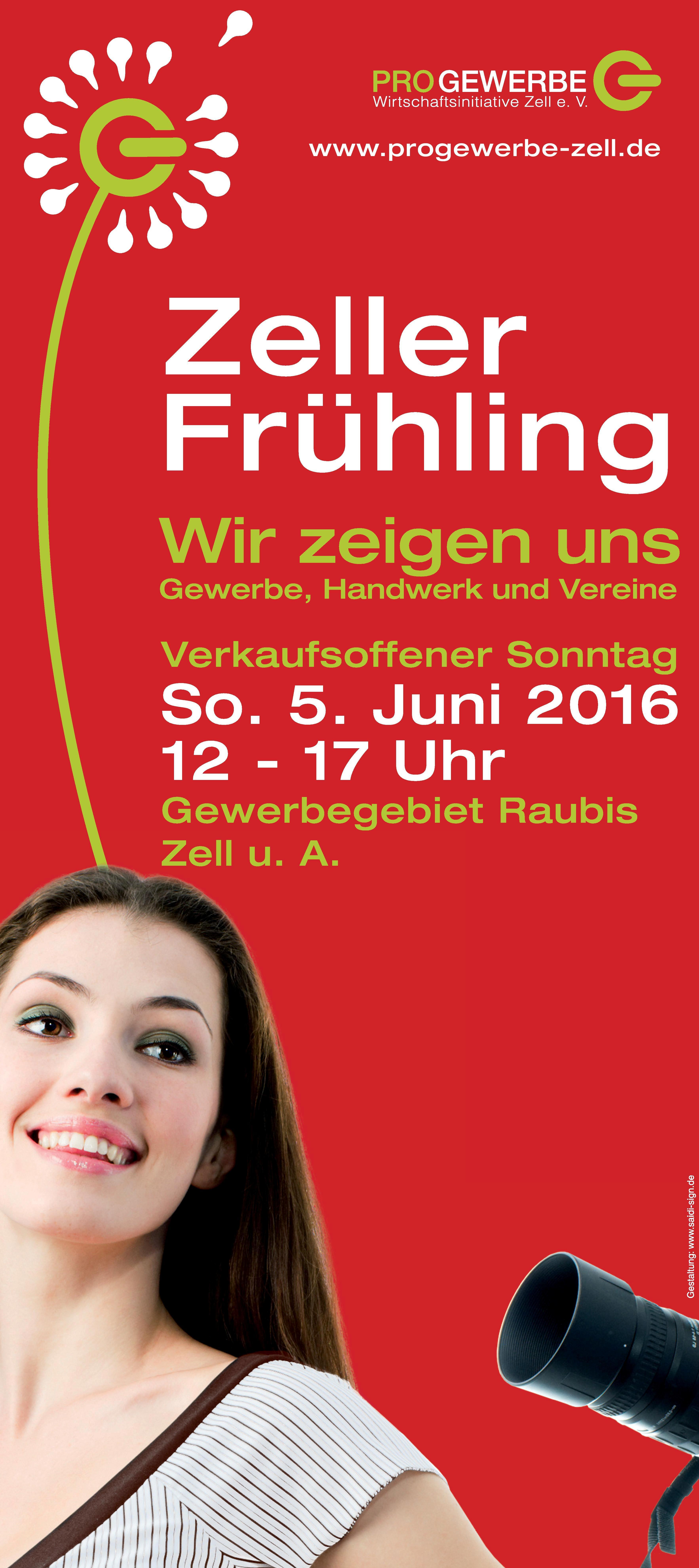 Gewerbeschau ,,Zeller Frühling'' am 05. Juni 2016