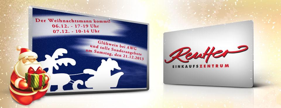 Weihnachten im Reutter Einkaufszentrum!
