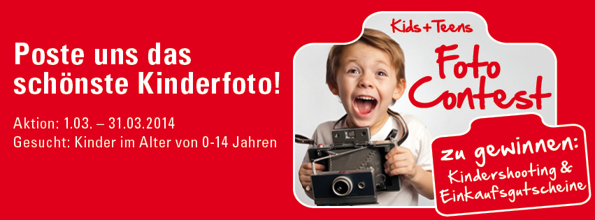 AWG - Kids & Teens Foto Contest vom 01.03. - 31.03.14