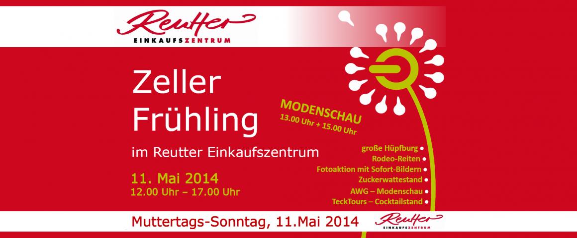 """Gewerbeschau """"Zeller Frühling"""" am 11. Mai 2014"""