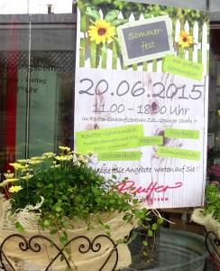Sommerfest im Reutter EInkaufszentrum?