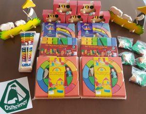 Glücksrad-Aktion für Kindergarten in Zell u.A.